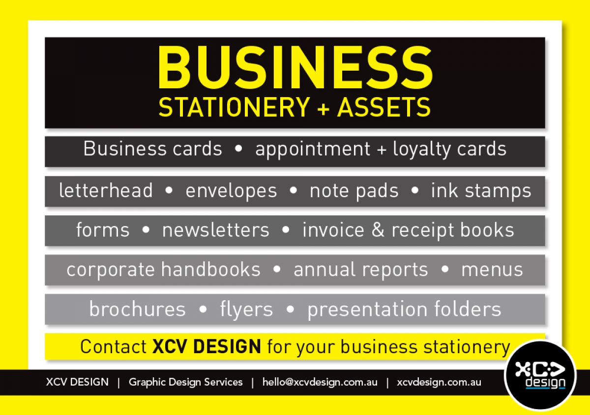 Business Stationery & Assets
