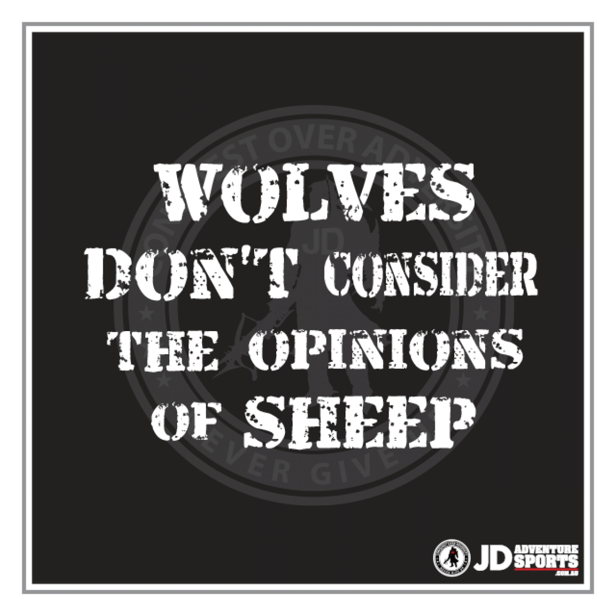 JD Adventure Sports - Shirt Graphic (Wolves)